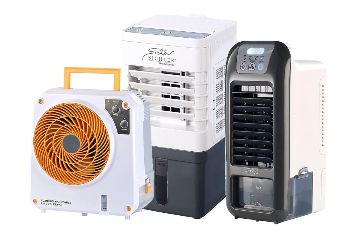 mobile klimaanlage mit akku k hle luft an jedem ort. Black Bedroom Furniture Sets. Home Design Ideas